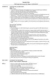 Mill Resume Samples Velvet Jobs