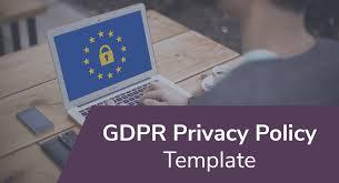 GDPR Privacy Policy Template - PrivacyPolicies.com