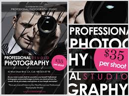 free flayers free photography flyer template flyerheroes