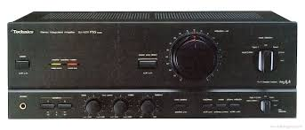 technics su v manual stereo integrated amplifier hifi engine technics su v570 front panel