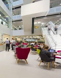 pwc london office. Breakout Areas \u003e\u003e Office Atrium The Breakout Space And Staff Café Area At Pwc London Office Y