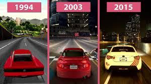 underground 2003 vs nfs 2016 graphics parison
