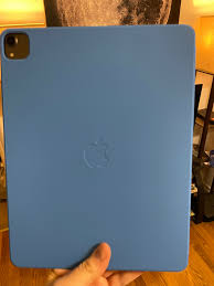 Ipad pro 2020 11 smart folio deksel kyprosgrønn. Debated If I Wanted To Pick Up The Surf Blue Smart Folio Since I Have The Older Ipad Pro Because Of That Camera Module So Glad I Did It Really Doesn T Look
