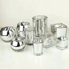 mercury glass candle holders mercury glass votive candle holders bulk