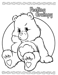 Small Picture 48 best care bears coloring pages images on Pinterest Care bears