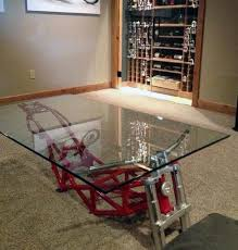 cool furniture design. Cool Furniture For Men Coffee Table With Motorcycle Frame Design