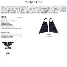 Pride Vulcan 3 Swimfins