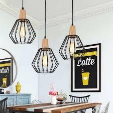 wood pendant light modern ceiling lights black lamp kitchen wood pendant lights wood veneer pendant lamp