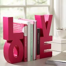 desk accessories for girls. Fine Accessories Tween Girl Bookends Shaped Like Word Love On Desk Accessories For Girls