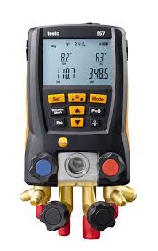 Testo 557 Digital Manifold Pressure Measurement Vacuum