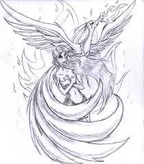 Drawings Of Phoenix Phoenix Bird Drawing Rome Fontanacountryinn Com