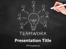 Teamwork Presentations Free Brainstorm Ppt Templates Ppt Template