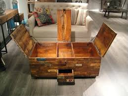 wooden chest coffee table reclaimed wood chest coffee table image and description large wood trunk coffee