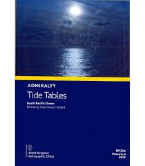 Np204 Admiralty Tide Tables Att Volume 4 South Pacific Ocean Including Tidal Stream Tables 2019 Edition