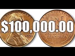 1958 Half Dollar Value Chart The 100 000 00 1958 Doubled Die Obverse Lincoln Cent Rare Variety Penny