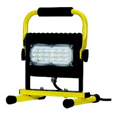 Defender Flood Lights Prolight Led Slim Series Flood Light 50w W Floor Stand