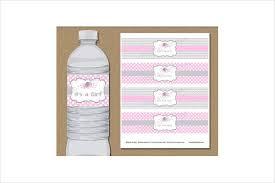 Water Bottles Templates 51 Bottle Label Templates Free Premium Templates
