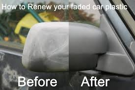 top hack how to re faded plastic pers and trims on a car you