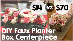diy faux planter box centerpiece tutorial easy diy fl centerpiece