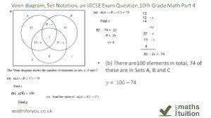 Venn Diagram Sets Worksheet Set Notation Venn Diagrams Math Grade Diagram Worksheets Diagrams