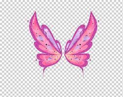 Bloom says roxy doesn't have believix powers. Bloom Tecna Roxy Flora Winx Club Believix In You Others Leaf Wings Moth Png Klipartz