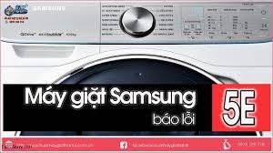 Máy Giặt Samsung Báo Lỗi 5E - Bơm Xả Máy Giặt - YouTube