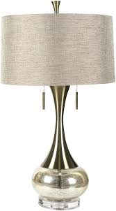 gold table lamp with black shade mercury glass table lamp gold table lamp black shade