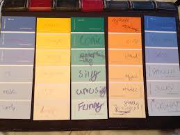 Homebase Paint Chart August 2013 Mrs Malcolmsons Musings