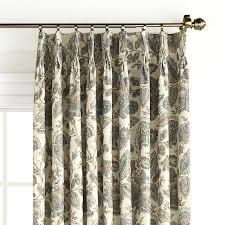 pinch pleat curtains curtain rods window fabric panels extra wide a62