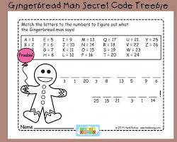 12 Days Of Holiday Freebies Day 4 Gingerbread Man Secret Code