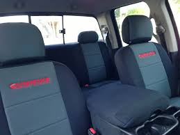 coverking neoprene seat covers dodge sel sel truck