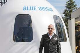 Jun 07, 2019 · blue origin is an aerospace manufacturer founded in 2000 that's 100% privately funded by the richest man in the world. Bezos Blue Origin Gets Ok To Send Him 3 Others To Space