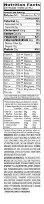 image nutrition information