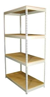 rivet rack boltless shelving assembly for simple assembly and easy assembly using no special tools