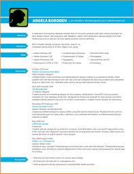 Graphic Designer Cv Pdf Applicationleter Com Fresheror Resume