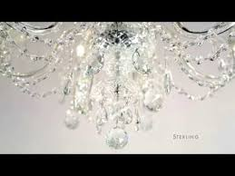 a cut above the sterling chandelier from schonbek lighting