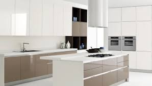 Modern White Kitchen Designs Engaging White Kitchen Design With Modern Faucet And Simple Oven