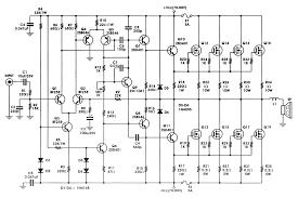 w high power mosfet amplifier amp circuit diagram 400w high power mosfet amplifier amp circuit diagram