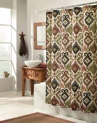 purple and green shower curtain new bathroom pretty ikat shower curtain for bathroom decoration ideas