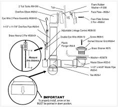 anatomy of bathroom plumbing bathtub drain and diagram kitchens bath