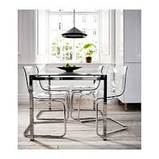 glass dining table ikea. glivarp extendable table - ikea expandable leaf and the glass top makes feel small dining ikea