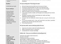 Cashier Job Description Resume - Jmckell.com