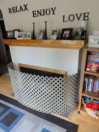 diy do it yourself fireplace child guard