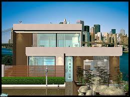 sims 3 small modern house design