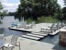 residential infinity pool. Beautiful Pool Residential Feature WaterfeatureInfinity PoolPatioStepsStonejpg Modern In Infinity Pool O