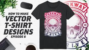 How To Make A Tshirt Design Using Illustrator How To Make Vector T Shirt Designs In Illustrator Ep 6