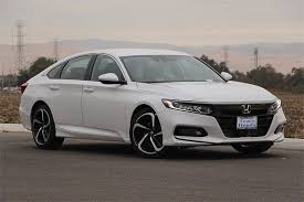 2018 honda white. new 2018 honda accord sedan sport automatic white