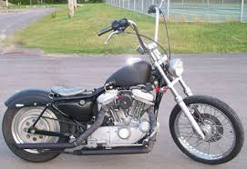 sporty bobber harley sportster xl883 and xl1200 oldschool