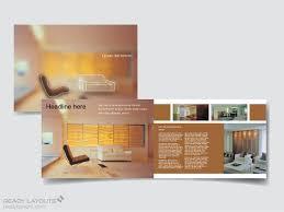 print design templates brochures flyers interiors company brochure template