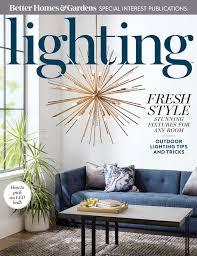 lighting in homes. Free Better Homes And Gardens Magazine Lighting In